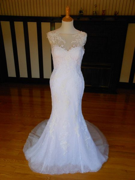 White One by Pronovias Wedding Dress Saura