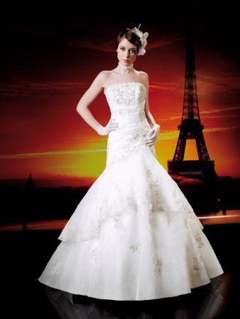 Miss Paris Wedding Dress MP113-34