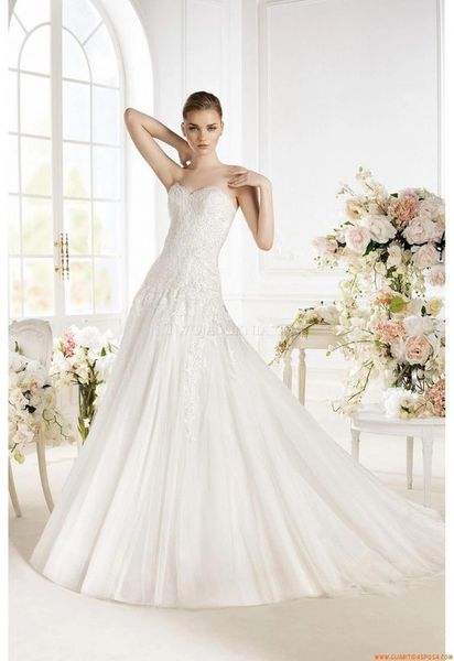 Atelier Diagonal by Pronovias Wedding Dress Pandara