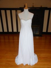 Galina by David's Bridal Wedding Dress Y9494