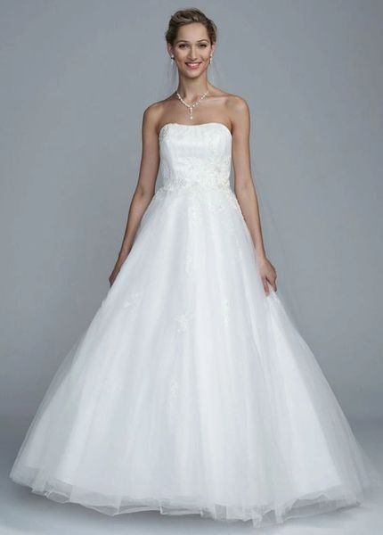 David's Bridal Wedding Dress OP1001