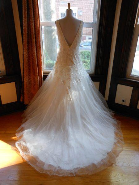 White One By Pronovias Wedding Dress Oviedo Anne Bridal