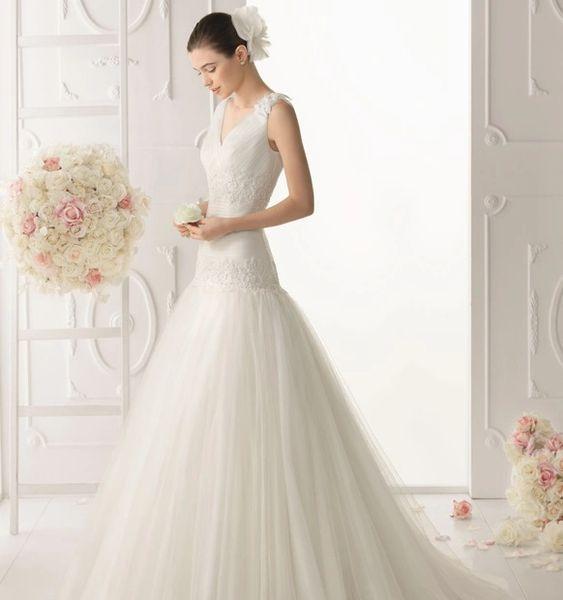 Aire Barcelona by Rosa Clara Wedding Dress 5C103