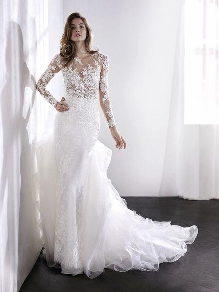 San Patrick by Pronovias Wedding Dress Lotus