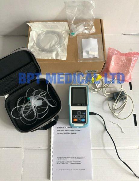 Endoscopy Lab Design: Creative Capnograph Oximete SideStream EtCO2 SpO2 Monitor