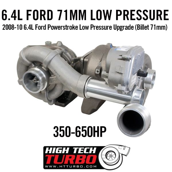 HTT Billet 71MM Low Pressure Turbo - 6.4 Power Stroke