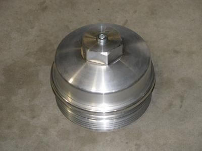 6.0/6.4 Billet Aluminum Oil Filter Cap