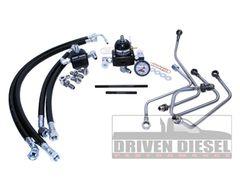 Driven Diesel 6.0 Fuel Bowl Delete Regulated Return Fuel System Kit