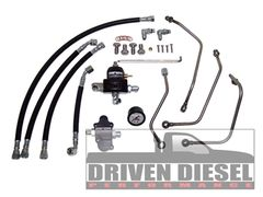 Driven Diesel 6.0 Regulated Return Fuel System Kit