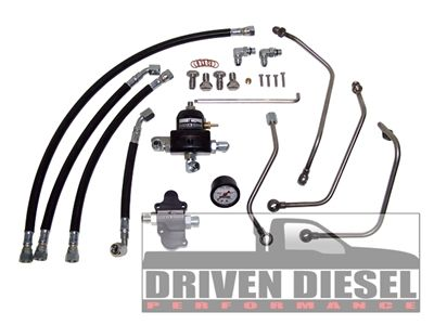 Driven Diesel 6.0 Regulated Return Fuel System Kit