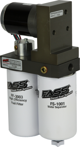 FASS Titanium Series Fuel System 150GPH - 08-10 Power Stroke