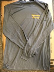 Nobody Cares / Holderdown Long Sleeve T-Shirt