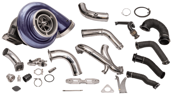 ATS Aurora 6000 Plus Compound Turbo Kit, 2015+ 6.7 Power Stroke