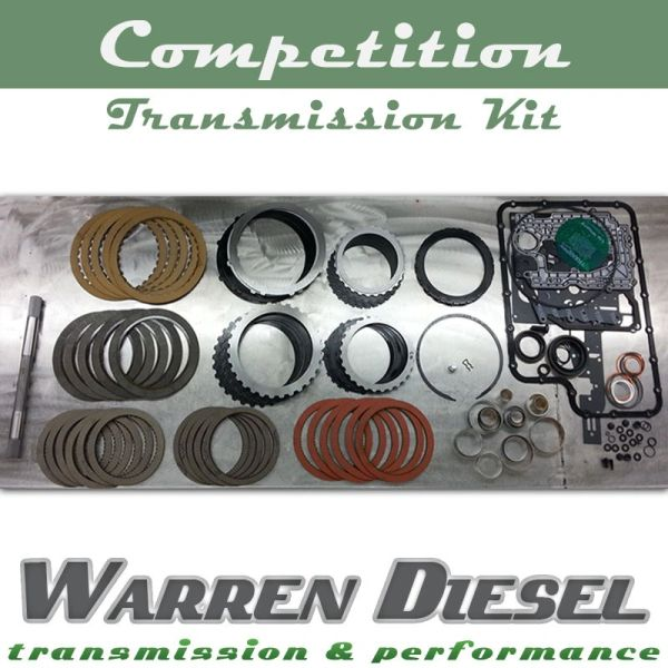 Warren Diesel 6R140 Competition Transmission Kit - 11-19 Power Stroke
