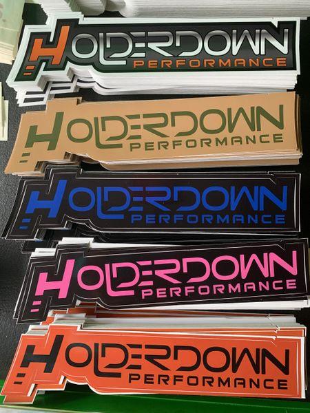 Holderdown Decal