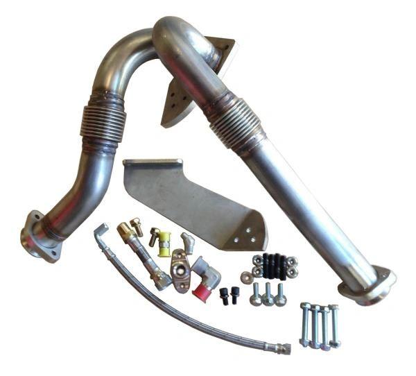 Irate Diesel T4 Turbo Mount Kit - 6.0 Power Stroke