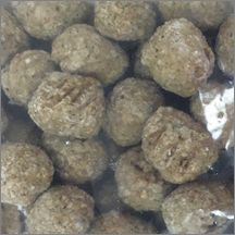 FC Beef & Chicken Meatball, 1 oz
