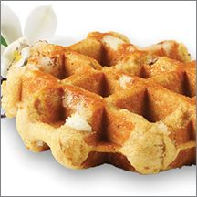 Vanilla Artisan Belgian Liege Waffle (IW)