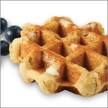 Blueberry Artisan Belgian Liege Waffle