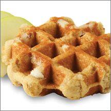 Apple Spice Artisan Belgian Liege Waffle (IW)