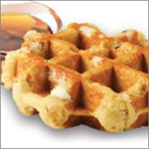 Maple Artisan Belgian Liege Waffle (IW)