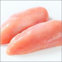 Fresh Boneless Skinless Chicken Breasts, 6 oz (Super-Trim, Clean Label)