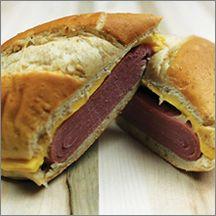 Turkey Ham & American Cheese on Sub Roll
