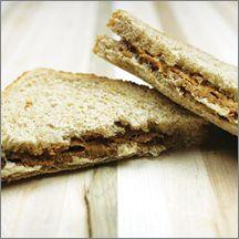 Peanut Butter & Grape Jelly on Whole Grain Bread