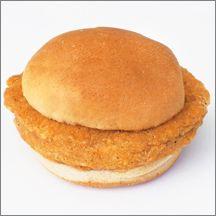 Spicy Chicken Patty Sandwich