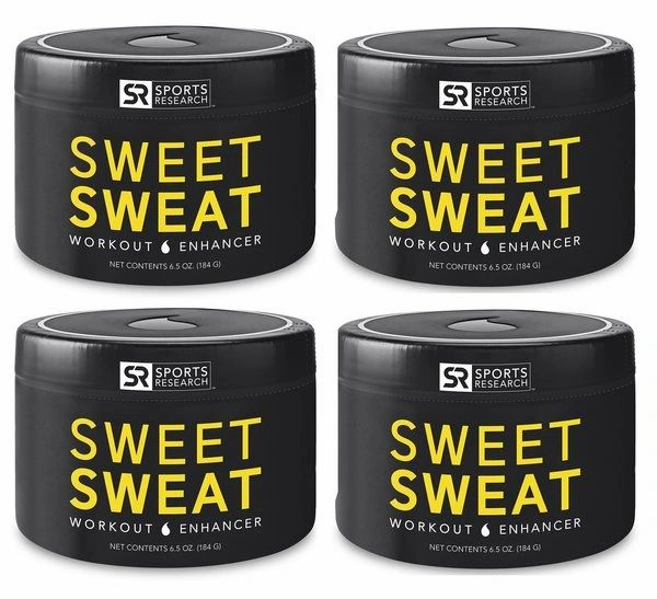 4 Sweet Sweat Jar 6.5oz - 23.95 each