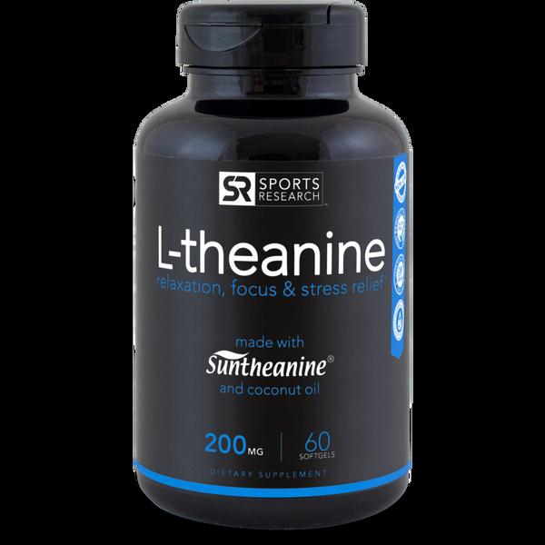 L-Theanine Suntheanine® (200mg) - 60 softgels
