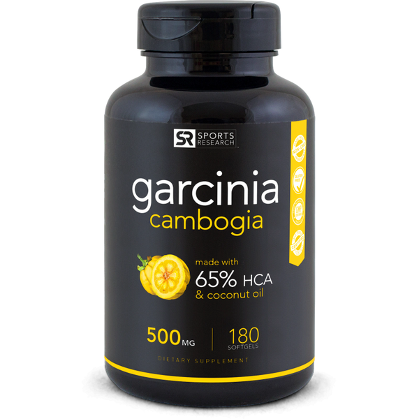 Garcinia Cambogia 65% (500mg) - 180 softgels