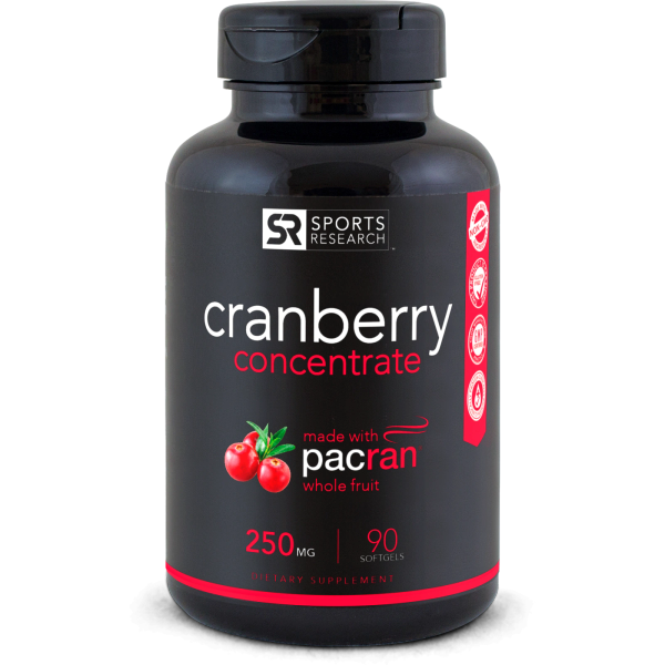 Cranberry Concentrate Pacran® 250mg (90 Liquid Softgels)