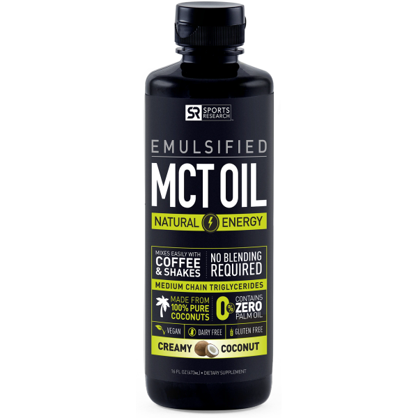 creamy mct oil dietary supplement
