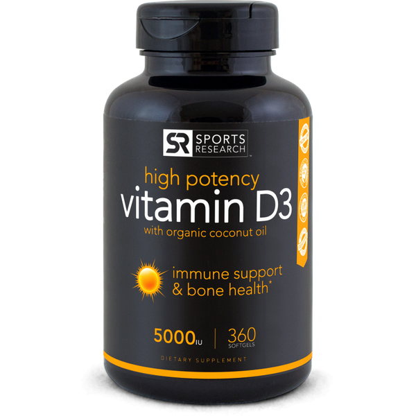 Vitamin D3 (5,000iu) - Sports Research
