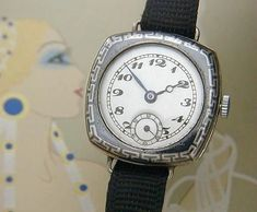 Vintage Glycine watches niello silver gold platinum, Vintage Glycine Watches,Glycintennial