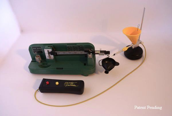 Powder Trickler Works with Any Reloading Electronic Scale Two Adjustable Base