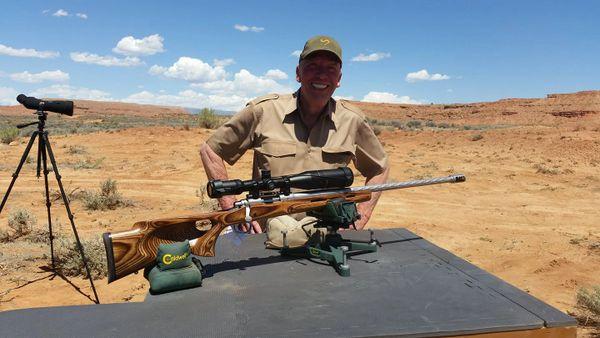 Custom 45 caliber Long Range Muzzleloader System