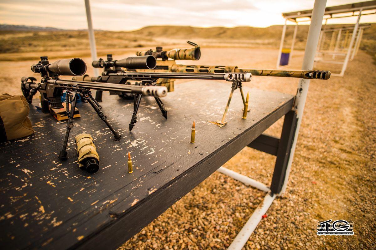 Long Range Muzzleloaders and Muzzle Brakes