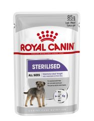 RC STERILSED DOG POUCHES 85GR