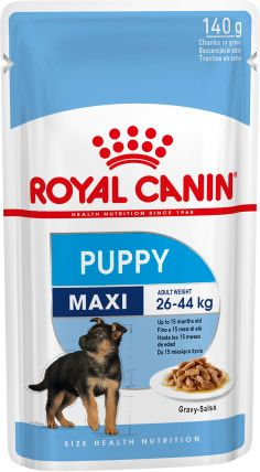 RC PUPPY MAXI POUCHES 140GR
