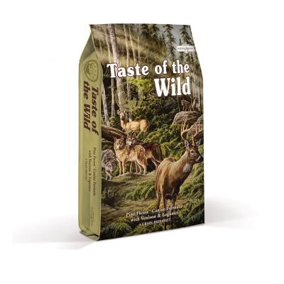 TASTE OF THE WILD PINE FOREST CANINE RECIPE with Vinison & Legumes