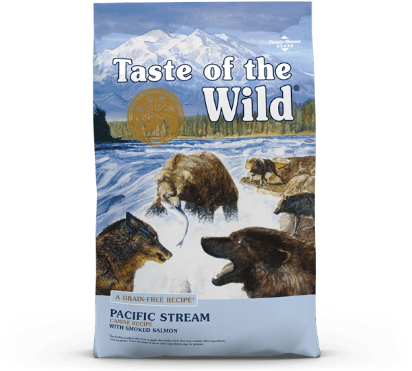 TASTE OF THE WILD PACIFIC STREAM CANINE RECIPE with Smoked Salmon