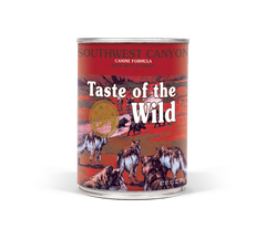 TASTE OF THE WILD SOUTHWEST CANYON CANINE FORMULA with Beef in gravy