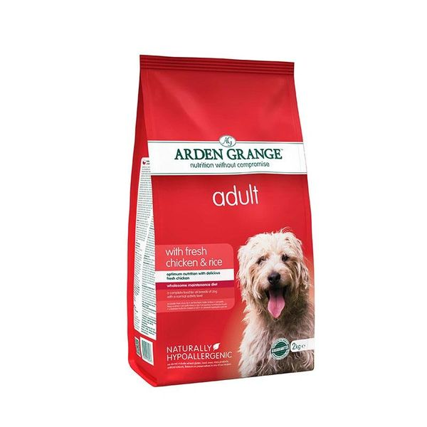 ARDEN GRANGE ADULT CHICKEN & RICE 2KG