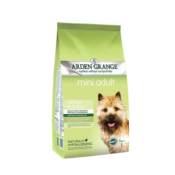 ARDEN GRANGE MINI ADULT LAMB 2KG