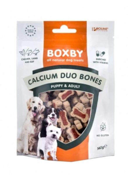 BOXBY CALCIUM DUO BONES 140gr