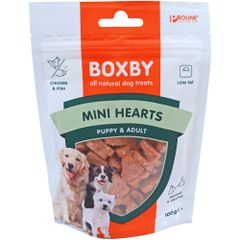 BOXBY MINI HEARTS PUPPY & ADULT 100gr