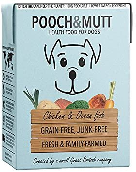 POOCH & MUTT Chicken & Ocean Fish 375gr