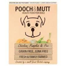 POOCH & MUTT - Chicken, pumpkin & pea 375gr